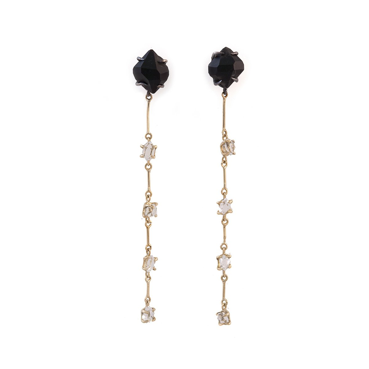 Herkimer Longo Earrings